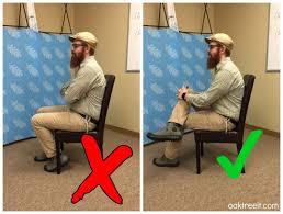 Posture Good and Bad